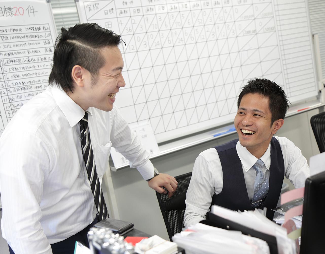 職場環境についてイメージ